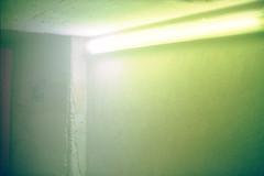 Green Fog Corner (astra pentaxia) Tags: berlin nikonf2 superia1600 corner zku green