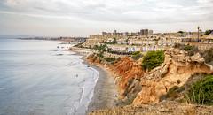Costa horadada (Fotgrafo-robby25) Tags: alicante amanecer costablanca edificiosdeviviendas marmediterráneo nubes rocas sonyilce7rm3