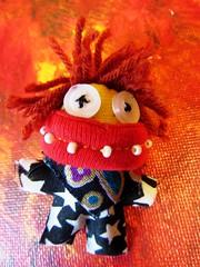 cute monster (hussi48) Tags: rot monster cute toy macromondays eyeofthebeholders