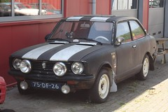 Toyota Corolla 1200 Toyoglide 28-6-1974 75-DF-26 (Fuego 81) Tags: toyota corolla 1974 75df26 onk cwodlp sidecode3 rally classic car dealer classicjob dalfsen netherlands