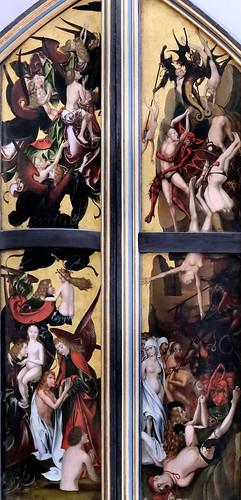 IMG_4003UG Hans Fries  1465-1520 Suisse  Das Jüngste Gericht  Le Jugement dernier The Last Judgement Munich Alte Pinakothek