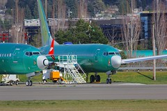 B737 N7204U Renton Seattle 23.03.19 (jonf45 - 5 million views -Thank you) Tags: airliner civil aircraft jet plane flight aviation renton municipal airport seattle boeing 737 factory 7377 max n7204u southwest airlines