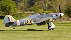 Hurricane (Bernie Condon) Tags: hawker hurricane warplane fighter raf royalairforce fightercommand ww2 battleofbritian military preserved vintage