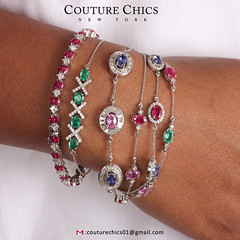 New Arrivals Genuine Gemstone & Natural Diamond Bracelet (couturechics.facebook1) Tags: new arrivals genuine gemstone natural diamond bracelet