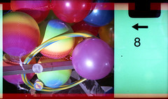 coloured balls (pho-Tony) Tags: 110 clowncamera expiredfilm toycameras novelty clown camera toy expired fujicolor superia iso 200 film tetenal c41