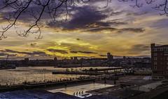 La Coruña (Alphonso Mancuso) Tags: sunset lacoruña galicia españa europa ciudad city mar puerto atardecer azul canon6dmarkii canon24105f4l outside