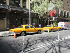 Yellow 1970s Chevrolet Caprice Taxi Cab NYC 6911 (Brechtbug) Tags: yellow 1970s chevrolet caprice taxi cab 45th street manhattan vintage 1970 70s 80s 1980 1980s type car cabs near times square midtown new york city 2019 april spring 04242019 nyc boxy old older