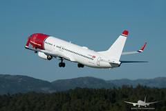 Norwegian - LN-NGR - B737-800 (Aviation & Maritime) Tags: lnngr norwegian norwegianairshuttle norshuttle boeing boeing737 b737 b737800 boeing737800 bgo enbr bergenairportflesland bergenlufthavnflesland bergen flesland