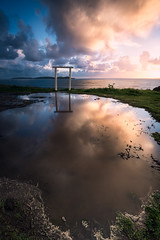 Punta Faxilda (jojesari) Tags: puntafaxilda puntaestofallas sanxenxo pontevedra galicia reflejos reflejo paisaje landscape explore