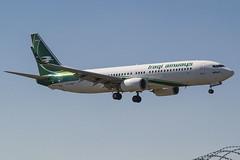 YI-ASV Iraqi Airways Boeing 737-81Z(WL) (Nathan_Ivanov) Tags: airplane aircraft vko vnukovo uuww spotting boeing boeing737 iraqi