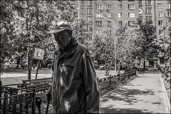 DRD160605_01409 (dmitryzhkov) Tags: urban city everyday public place outdoor life human social stranger documentary photojournalism candid street dmitryryzhkov moscow russia streetphotography people man mankind humanity bw blackandwhite monochrome