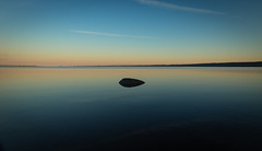 Alone (Janne Räkköläinen) Tags: alone lake lakesaimaa saimaa finland suomi calm calmwater evening night rock water 2018 summer sunset sunsetlovers nature naturelovers pure landscape silence amateur amateurphotography amateurphotographing canon canon6d canonphotography canonphotographing ef24105l summerhouse summercottage liperi northkarelia july relax lifeisgood