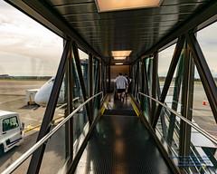 Walking Down the Paine Field Terminal Glass Jetway (AvgeekJoe) Tags: d5300 dslr e75l erj170200lr erj175 erj175lr embraer embraererj170200lr embraererj175 embraererj175lr n624qx nikon nikon1020mm nikon1020mmafpdxf4556gvr nikond5300 nikonnikkor1020mmafpdxf4556gvr aircraft airplane aviation jetliner plane