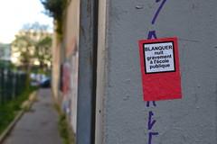 Série loi Blanquer dans les rues de Paris (Jeanne Menjoulet) Tags: école loiblanquer danger grève school france strike blanquer