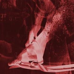 ballerina dance (Hal Halli....happy everything!!) Tags: ballerina leg woman dancer ribbon