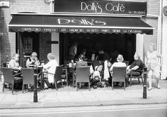 Dollys Café (Howie Mudge LRPS BPE1*) Tags: yashica35gsn fomapan400 caffenol epsonv800 rangefinder selfdevelop people café cafe street streetphotography analog analogphotography 35mm 35mmfilmphotography 35mmfilmcamera film filmphotography filmisnotdead filmcamera ishootfilm believeinfilm filmrevival