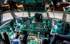 Ilyushin Il-62MGr EW-450TR Rada Airlines (William Musculus) Tags: ew450tr rada airlines ilyushin il62mgr paris vatry châlons châlonsvatry lfok xcr airport spotting aviation airplane plane william musculus il62 il62m cargo cockpit flight deck