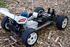 Kyosho Turbo Burns SCC (Full Option) (lexster76) Tags: rc kyosho turbo burns nitro buggy vintage rare scc special champion car classic 18