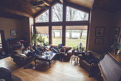 Meteghan morning (Adrian Schaap) Tags: nova scotia canada meteghan clare cabin house home realestate livingroom friends lazy sunday quiet muted tones canon 5dmkii