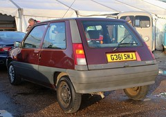 G361 SMJ (Nivek.Old.Gold) Tags: 1989 renault 5 automatic 14litre 3door aca