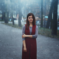 Iraida (Shumilinus) Tags: 2018 85mmf18 autumn girls iraida nikond300s park people portrait saintpetersburgrussia street trees women city