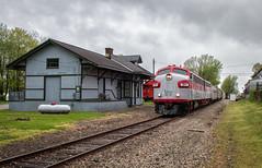 Deatsville Depot (Wheelnrail) Tags: rj corman rjcc train trains emd fp7 locomotive my old kentucky dinner railroad rail road deatsville depot station ky ln louisville nashville bardstown branch