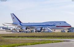 Boeing 747-400 Korean Government  (10001) (lucas slow) Tags: avion ciel cockpit photo spotting boeing 747400 b747 b744 korean government 10001 airport ory lfpo paris orly turboréacteurs winglets roues bleu blanc rouge