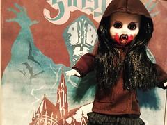 Living Dead Dolls Agana (Josie&theKILLER_DOLLS) Tags: childrenofthenight mezco ldd fangs blood goth creepy vampire agana dolls dead living