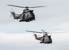 Westland Puma HC1 - Royal Air Force - XW213 & ZJ955 (lynothehammer1978) Tags: keevilairfield royalairforce raf zj955 xw213 westlandpumahc1