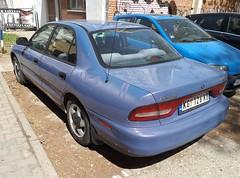 1996 Mitsubishi Galant GLSi (FromKG) Tags: mitsubishi galant glsi blue car kragujevac serbia 2019