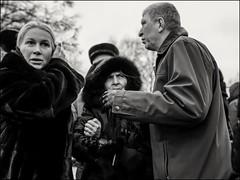 2a7_DSC0995 (dmitryzhkov) Tags: urban city everyday public place outdoor life human social stranger documentary photojournalism candid street dmitryryzhkov moscow russia streetphotography people man mankind humanity bw blackandwhite monochrome funeral cemetery