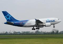 Air Transat                                           Airbus A310                                         C-GTSY (Flame1958) Tags: airtransat airtransata310 airbusa310 airbus a310 310 dub eidw dublinairport cgtsy 230419 0419 2019 9330
