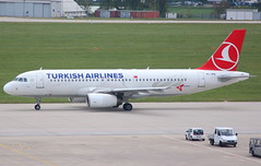 TURKISH AIRLINES TC-JPB Airbus  A320-232 departure from Istanbul ISL Turkey from Stuttgart STR Germany (Cupertino 707) Tags: turkish airlines tcjpb airbus a320232 departure from istanbul isl turkey stuttgart str germany first flight date 25112005 16122005 thy turkishairlines named rize correct 06032018 indigo vtihl