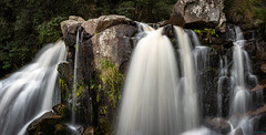 Snob Creek Falls Panoramic (ian_underthesea) Tags: waterfall eildon victoria australia snobs creek falls landscape longexposure panorama panoramic