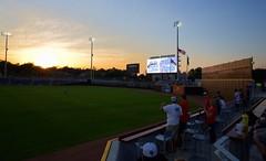 2442263441 (jalexartis) Tags: fayetteville fayettevillenc fayettevillenorthcarolina downtown downtownfayetteville segra segrastadium stadium baseball ballpark inaugralseason inaugral sunset lighting