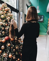 nd AFTER (morikarak) Tags: long short longhair shorthair rapunzel chop chopitoff thickhair ponytail braid shave blonde brunette