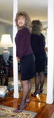 (penny_coyne) Tags: pennycoyne skirt blond pumps