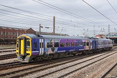 Northern 158842 - Doncaster (Neil Pulling) Tags: dmu railway uk train transport northern 158842 doncaster northernrail ecml