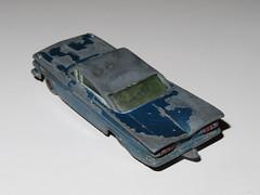 Lesney - Chevrolet Impala (1959) (RS 1990) Tags: matchbox diecast retro toy vehicle australia april 2019 thursday 25th lesney vintage worn paint playwear chevrolet chevy impala car
