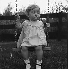 Girl from 1930s - Vintage Negative (Photo Alan) Tags: blackwhite blackandwhite monochrome film filmcamera vintage negative girl people