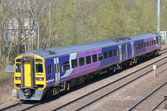 158859 (2) (ANDY'S UK TRANSPORT PAGE) Tags: trains chesterfield arn northern arrivarailnorth class158