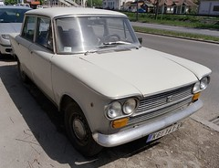 1977 Zastava 1300E (FromKG) Tags: zastava 1300e yugo grey car kragujevac 2019 serbia