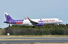 HK Express, B-LEH, Airbus A321-231 at NRT (tokyo70) Tags: japan travel tour hkexpress a321
