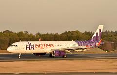 HK Express, B-LED, Airbus A321-231 at NRT (tokyo70) Tags: japan travel tour hkexpress a321