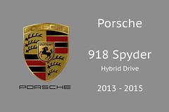 Porsche 918 Spyder (Perico001) Tags: