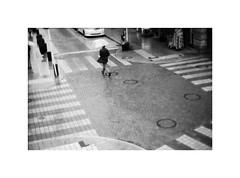 *雨の風景 (niko**) Tags: leica leicam2 canon50mmf095 ilford panfplus50 135 35mm filmphotography yokohama