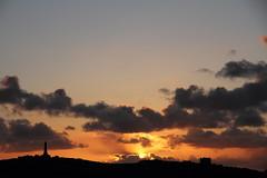 Beautiful Sunset over Carn Brea (Cornish Reflections) Tags: sunset carnbrea castle monument cornwall uk england cornish