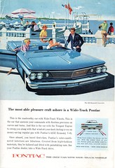 1960 Pontiac Bonneville Convertible USA Original Magazine Advertsement (Darren Marlow) Tags: 1 6 9 19 60 1960 p pontiac b bonneville t tempest c convertible cr cool collectors classic a automobile v vehicle g m gm general motors u s us usa united states american america 60s