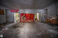 Secondary School in the Chernobyl Zone (Mr Sovieticus) Tags: chernobyl pripyat school abandoned urban exploration urbex decay soviet ussr cccp
