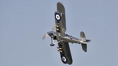 Hawker Hind (Bernie Condon) Tags: hawker hind bomber trainer military warplane vintage preserved warbird 1930s raf royalairforce shuttleworth